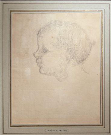 Eugène Carrière, Profilo di fanciullo