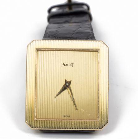 Orologio in oro da polso Piaget anni'80