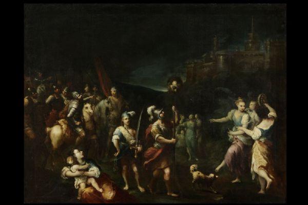 Antonio Gionima Il trionfo di Davide