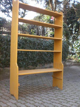 Scaffalatura libreria etagere antiquariato su anticoantico for Scaffalatura libreria