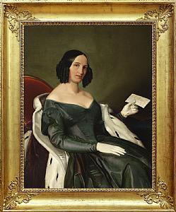 Racchetti  Presunto ritratto della moglie di Albino Parea  VENDUTO