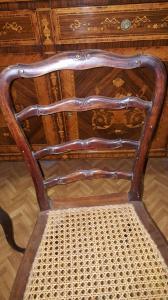 4 кресла в стиле рококо