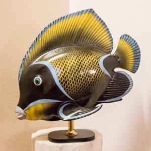 Pesce in ceramica MANGANI