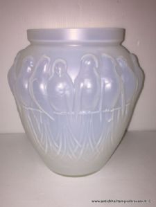Antique globular vase Art deco Edmond Etling