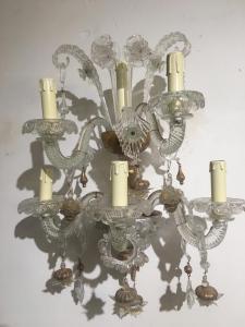 穆拉诺玻璃壁灯