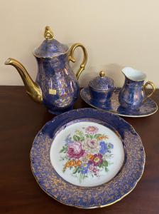 coffee set consisting of 4 pieces