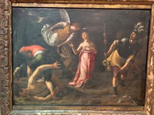 Dipinto raffigurante il Martirio di Sant'Orsola
