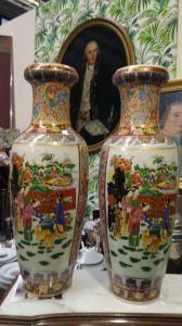 Chinese vase couple