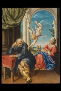 Seguace di Lelio Orsi Sogno di San Giuseppe