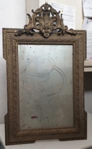 古代镀金镜