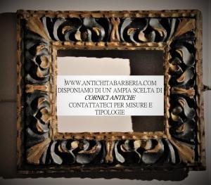 Cornice lacca e oro Emilia \Lombardia a cavallo tra XV I\ XVIIsec.