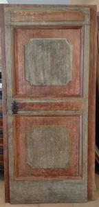 Umbrische Tür bemalt Anfang des 18. Jahrhunderts