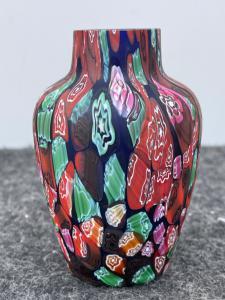 Murrine jar. Brothers Toso, Murano.