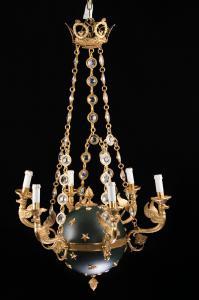 19世纪的枝形吊灯