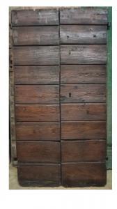 дверь с рейками
