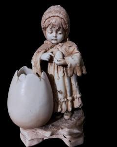 Porcellana in biscuit Germania inizi 900