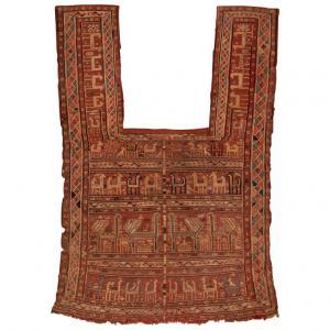 Rare ancient Caucasian VERNEH saddle