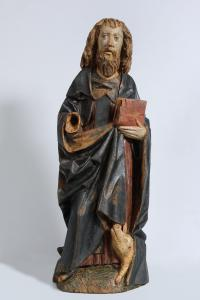 Sant'Antonio Abate, sculptor, southern Germany, 15th century