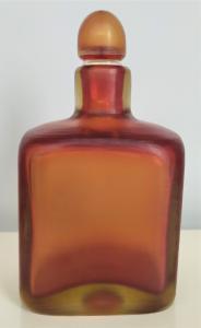 P. Venini Murano - Bottiglia in vetro colorato - serie