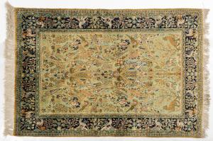 Persian GHUM or KUM carpet in pure silk