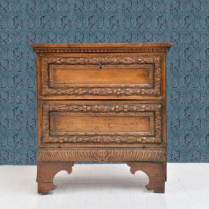 Mobiletto in noce '600, Cabinet in walnut '600
