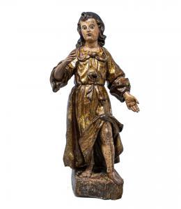 Angelo in legno, XVII secolo