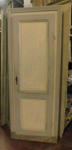 ptl486 - Puerta lacada simple, mis. máx. cm 83 xh 214