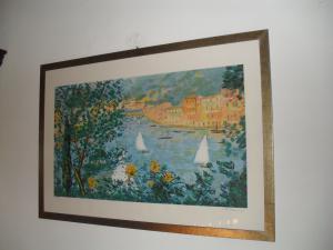 Portofino serigrafia Cascella