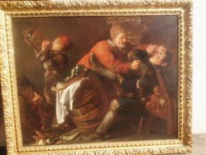 埃伯哈德·基豪(Eberhard Keilhau)(1624-1687)的《村民之间的争吵》被称为蒙苏·贝尔纳多(Monsu'Bernardo)