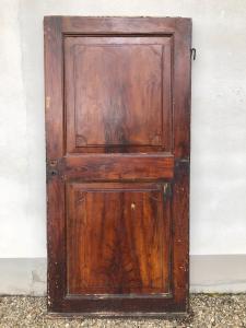 Porta pintada em madeira faux