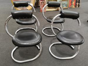 4个70年代椅子