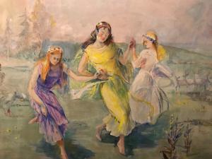 Umberto Lilloni 1898-1980 Alegoría bailando
