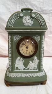 Orologio in porcellana di wychwood inglese epoca primi del 900