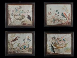 Quatro pergaminhos de um livro de botânica, 1771