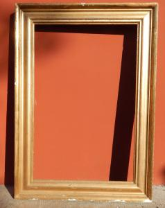 golden frame from the 1800s