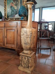 Vaso istoriato terracotta di Signa