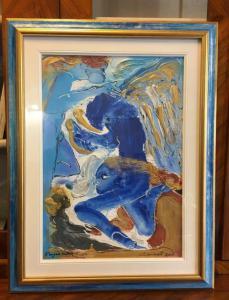 Pintura a óleo Aurelio Caminati 1924-2012