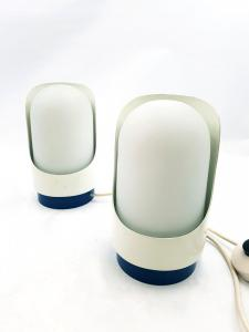 Пара настольных ламп, дизайн Valenti Luce, 1970-е годы, Пара настольных ламп, дизайн Valenti Luce, 1970-е,