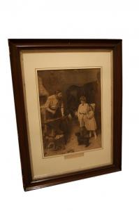 """England print """"As Good as Ever"""" from 1800"""