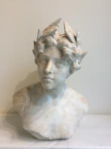 "Giuseppe Bessi ( Volterra 1857 - 1922) ""Allegoria della Poesia"""