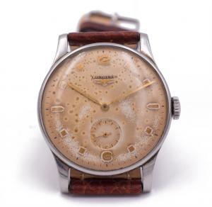 Orologio da polso Longines in acciaio anni '50