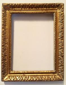 18th century golden frame