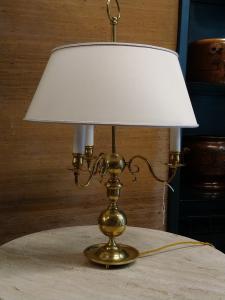 Lampade a buiotte in ottone