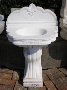 Lavabo de pedestal