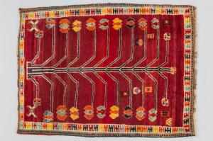 GABBEH carpet of the Persian nomads - nr. 970 -