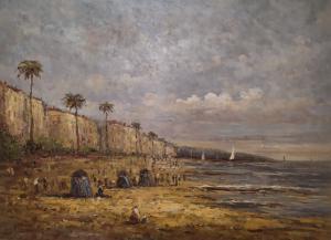 Dipinto, olio su tela, quadro, firmato Gardy, Francia XX secolo