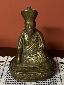piccola scultura indiana in  ottone