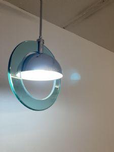 :70 年代的太空时代现代吊灯,