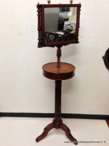 Victorian antique dresser with mirror directional