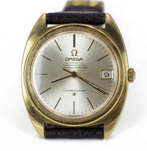 Omega Constellation automatic wristwatch with date, 60s
